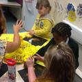 Making gold art