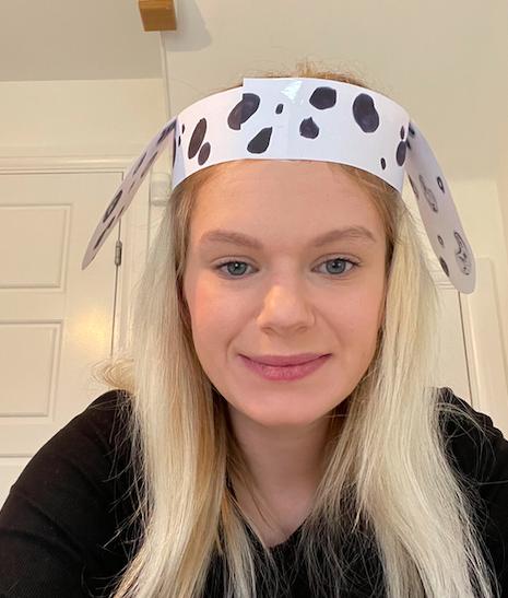 wear your Dalmatian headband!