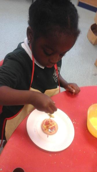 We loved making and eating our firework biscuits!