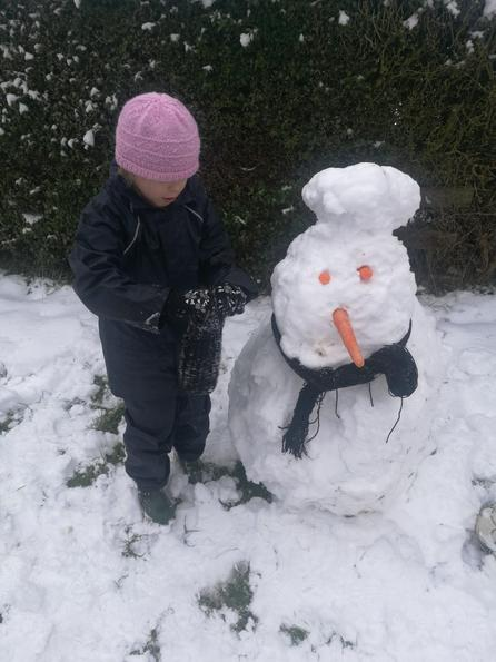 Georgias snowman