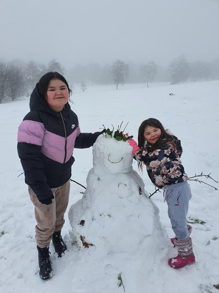 Rosies snowman