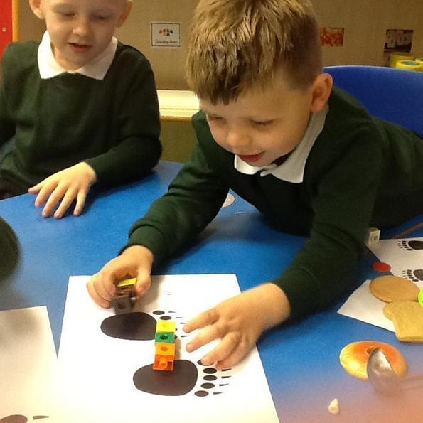 Measuring the footprints