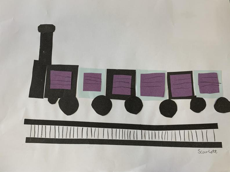 Scarlett's Train