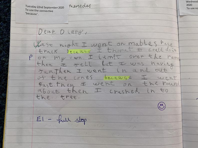 Mercedes' Diary
