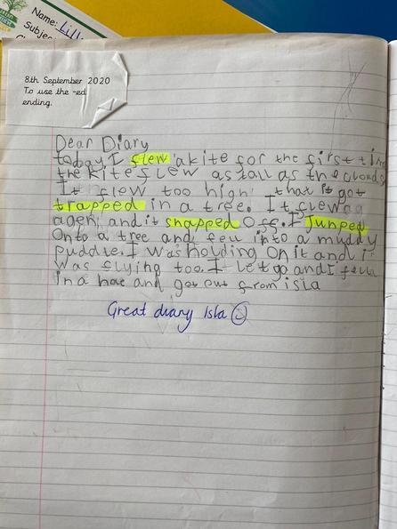 Isla-Mae's Diary