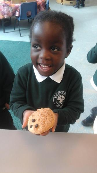 We loved the hedgehog bread.