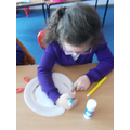 Week 3 Year 1 & 2- This week we learnt about the rainforest and made different rainforest