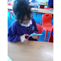 This half term KS1 designed, made and evaluated finger puppets