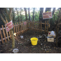 Our Mud Kitchen is a popular place to explore