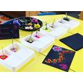 Flower printing - get creative!