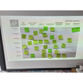 Asking geographical questions about mountains and volcanoes using a question matrix