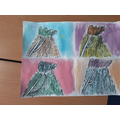 Year 4 using their drawing skills to create Pop Art inspired by Andy Warhol