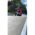 Ethan is learning new motorbike skills!