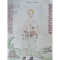 Ewan's Steve Irwin sketch ~ I remember him well.