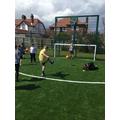 Kicking the first goals