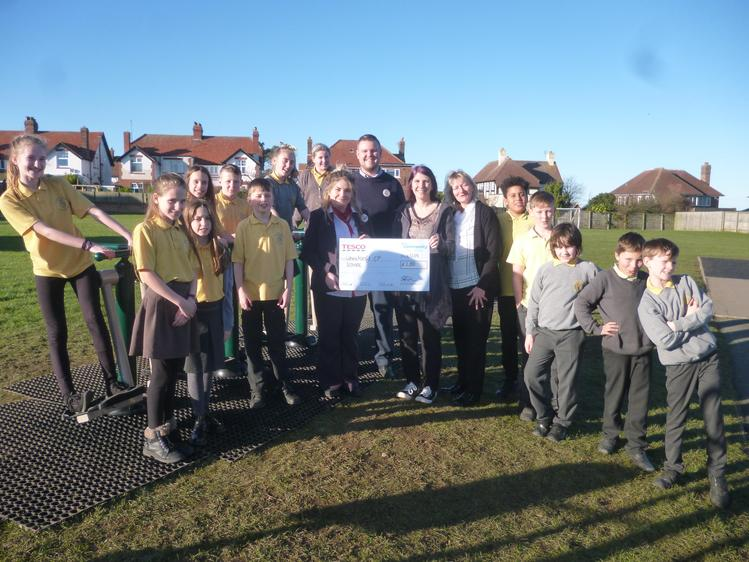 Opening of our outdoor gym equipment