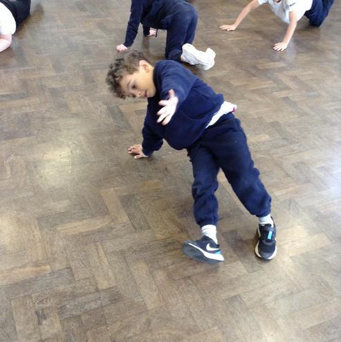 Gymnastics balancing skills