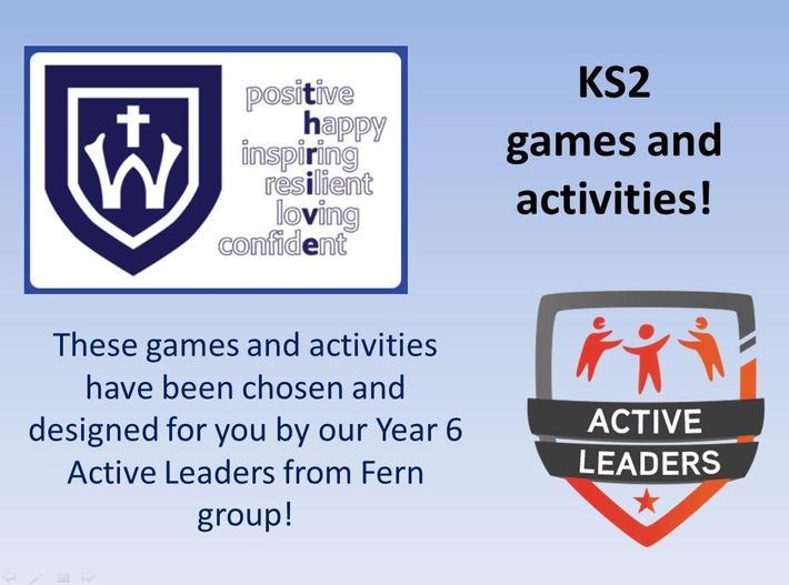 KS2 - Click below for the activities!