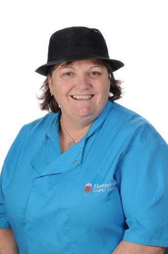Mrs Trish Sugden, Assistant Cook