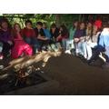 Campfire fun.