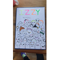 Izzy's Home Learning Book Cover