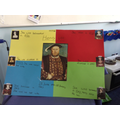 Shannon's Henry VIII poster.