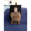 Leila's painting of Elizabeth I