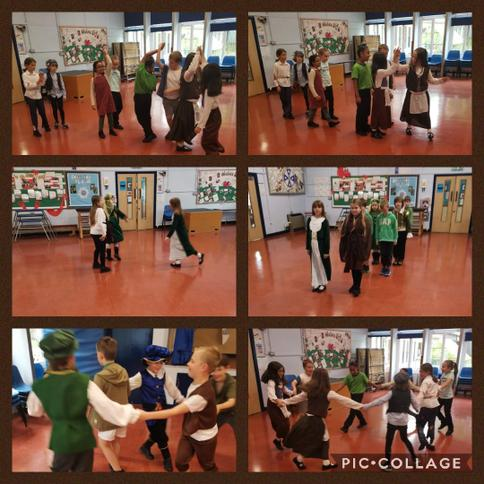 We learnt to dance like the Tudors!
