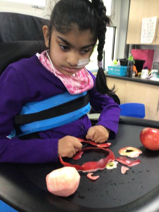 Exploring apples