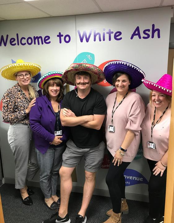Hola from all the staff and pupils at White Ash. Today we are celebrating Mexico Day.