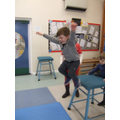 Sport Relief...leaping