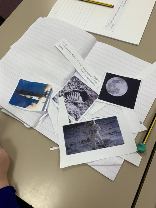 Year 1 are exploring the moon landing.
