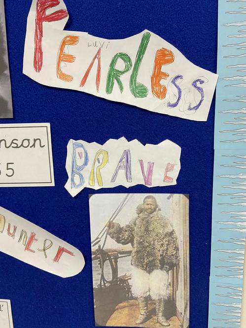 Matthew Henson fearless explorer!