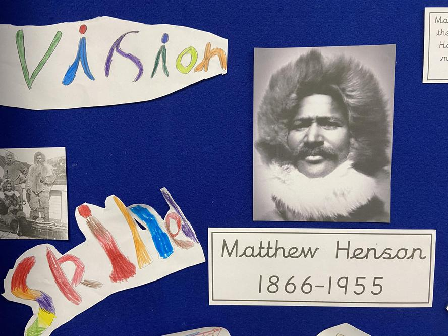 Matthew Henson was a skilled explorer with skills and a clear vision.
