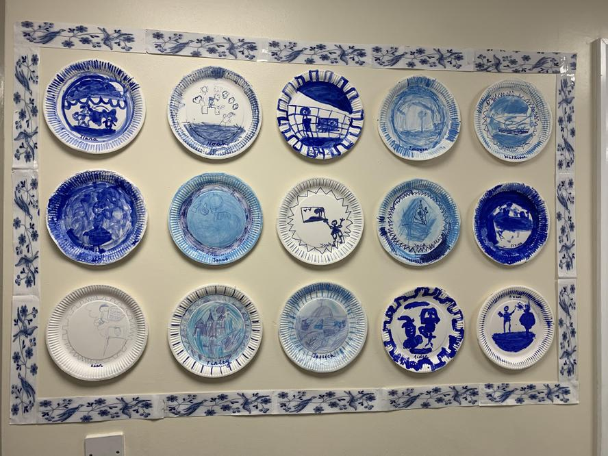 Look at these amazing plates created in Year 2!