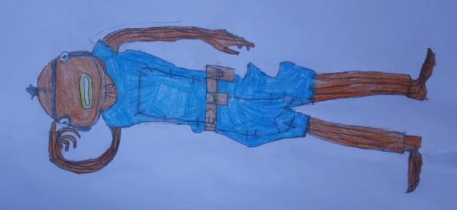 Daniel's half term artwork