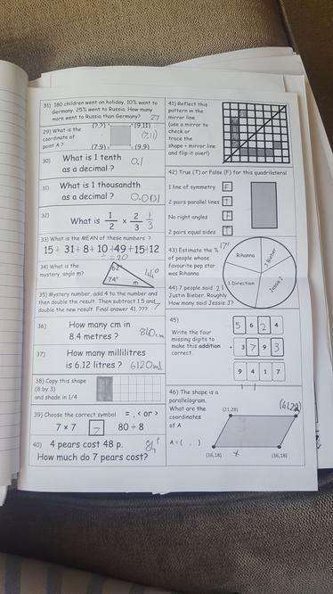 Luke's Maths