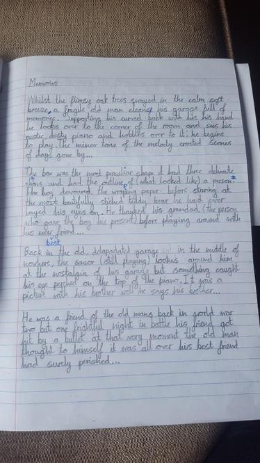 Luke's Story pg 1