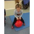 Sport Relief...bouncing