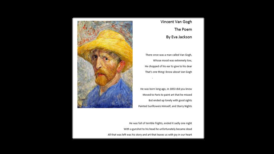 Eva's Poem