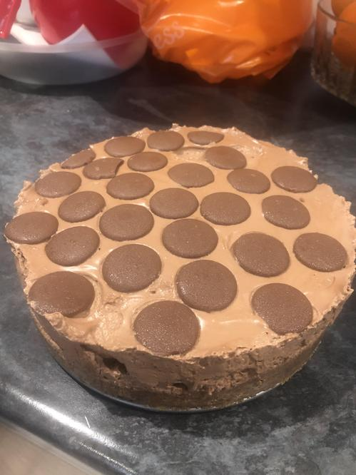 Nutella Cheesecake - YUM!