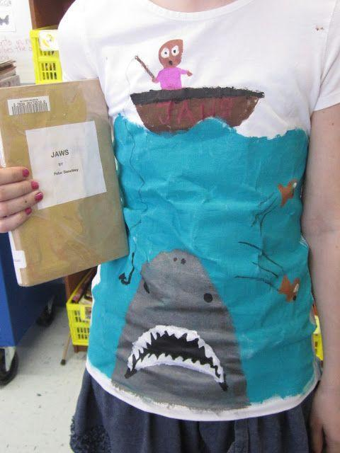 Book on a T-shirt