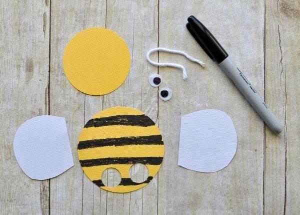 Bee Puppet materials
