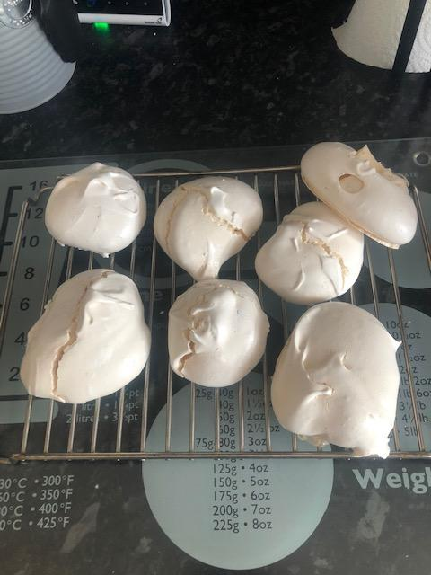 The meringue