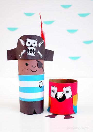 Pirate Pete cardboard tube
