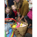 Mrs White visits the baby clinic with Darcey