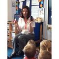 Jayne visits Foundation
