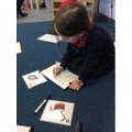 Grapheme writing