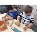 Making Salt Dough