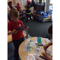 Matching captions to pictures